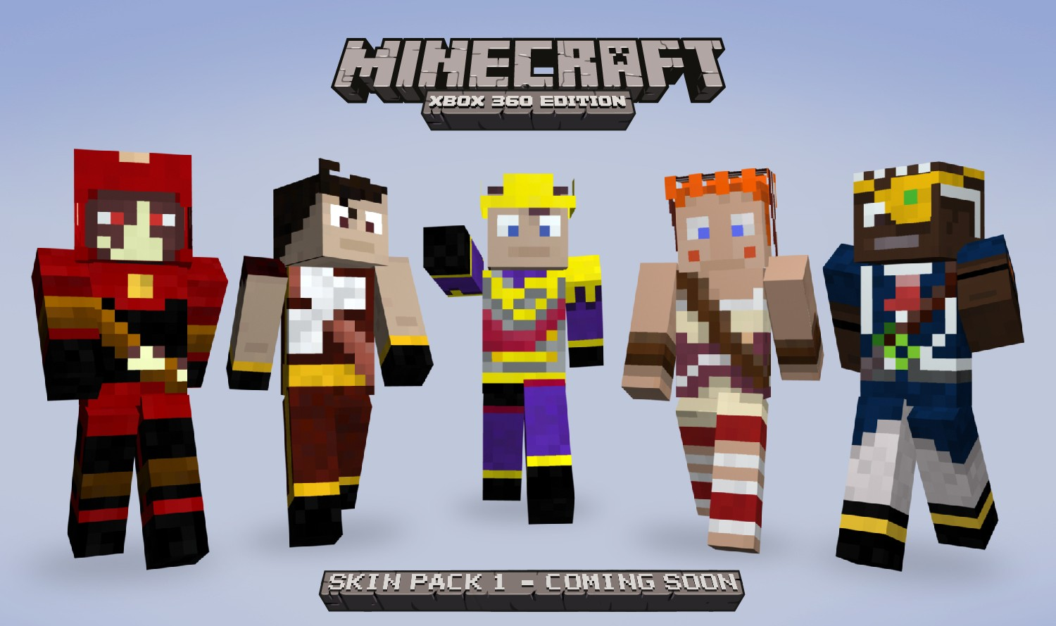 Free Download Minecraft Skin Heroes Pack Hd Wallpaper Minecraft