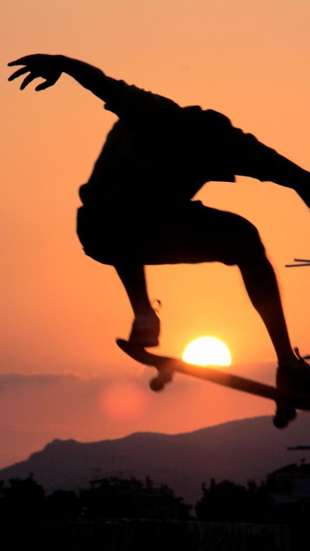 Style sun skate skateboarding skateboards wallpaper 78359 640x1136