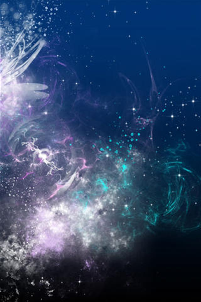 Abstract Galaxy iPhone Wallpapers iPhone 5s4s3G Wallpapers 640x960