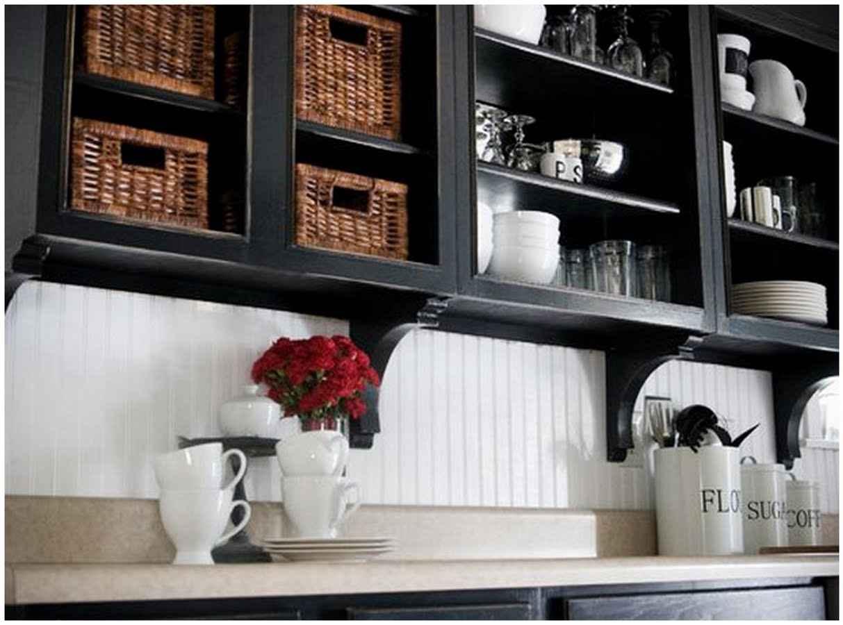 Affordable Kitchen Makeover Wallpaper Backsplash Feel The Home 1213x900