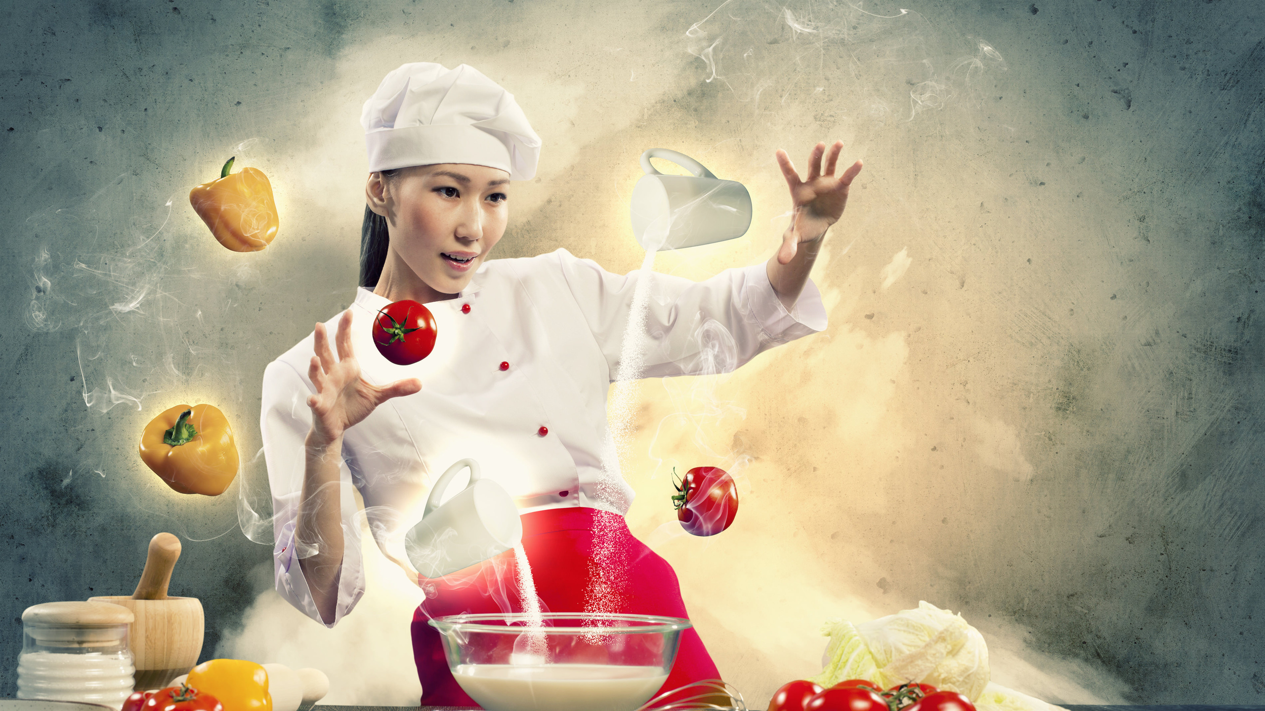 Cooking Backgrounds Download 2560x1440