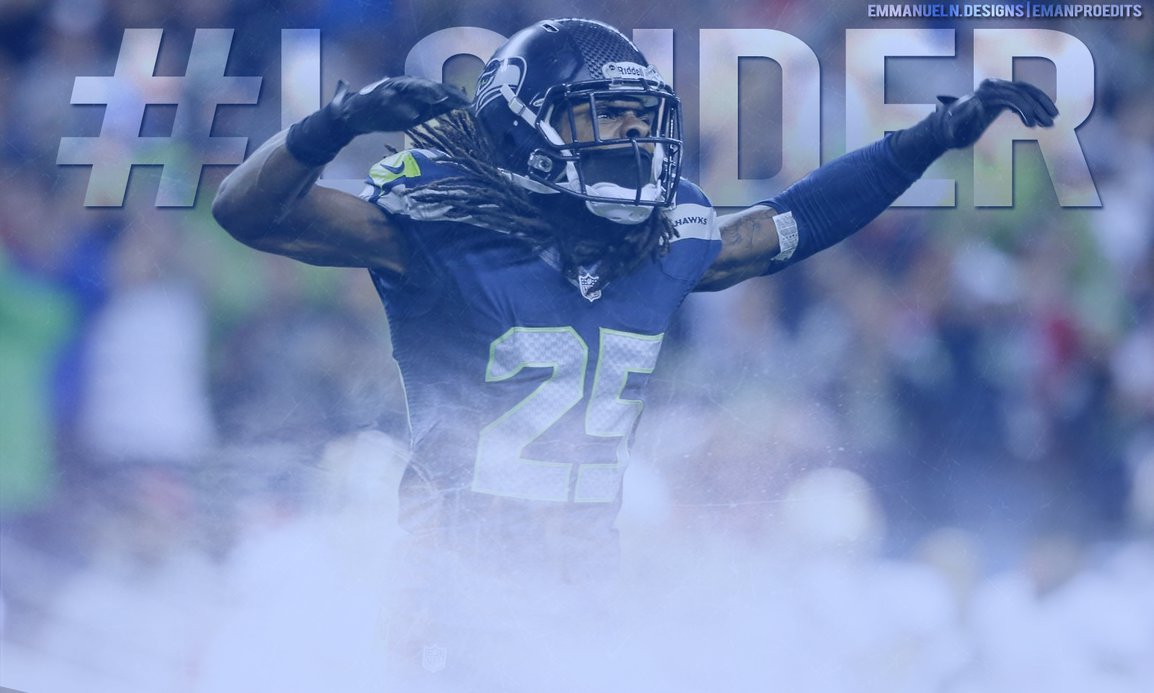 Richard Sherman Wallpaper by emanproedits 1154x693