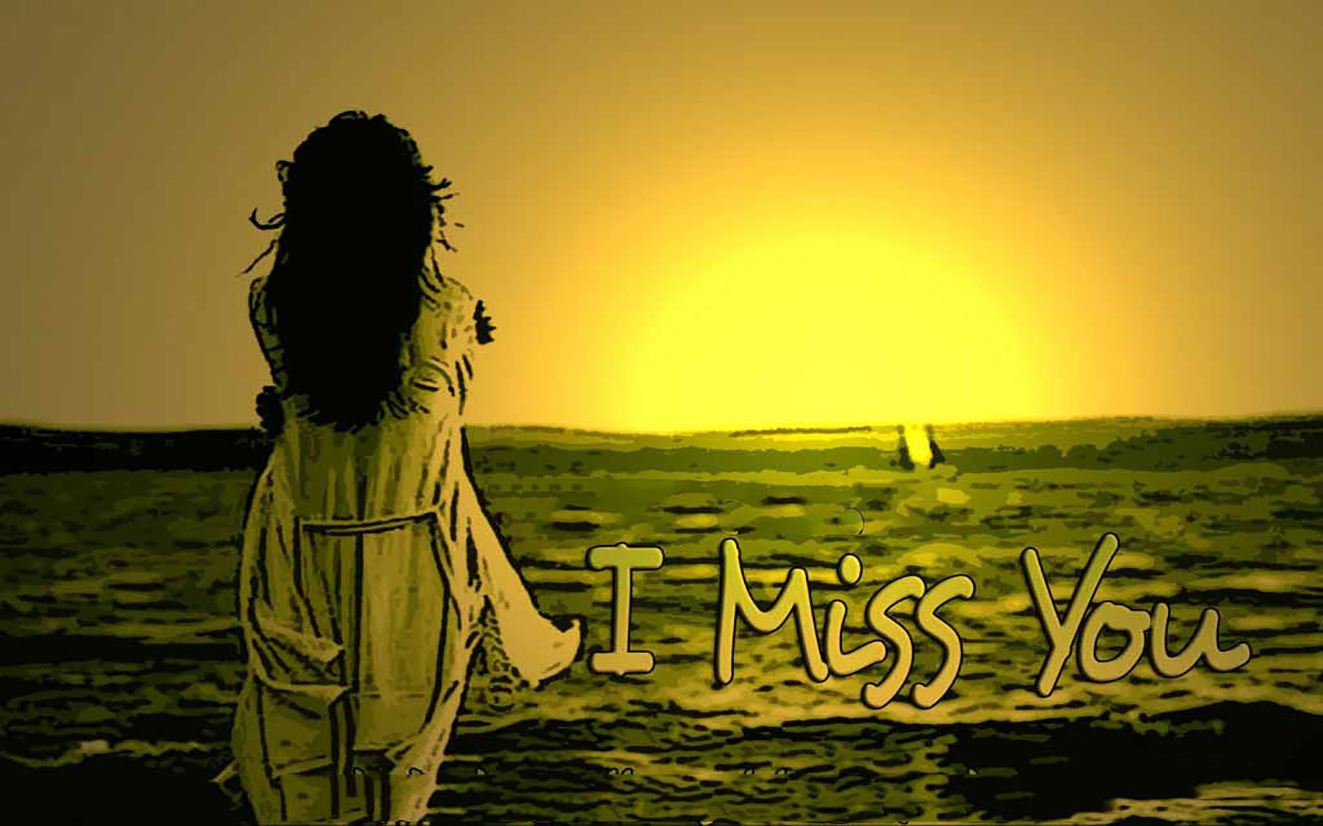 Download 21 I Miss You Wallpapers With Quotes 1920x1200