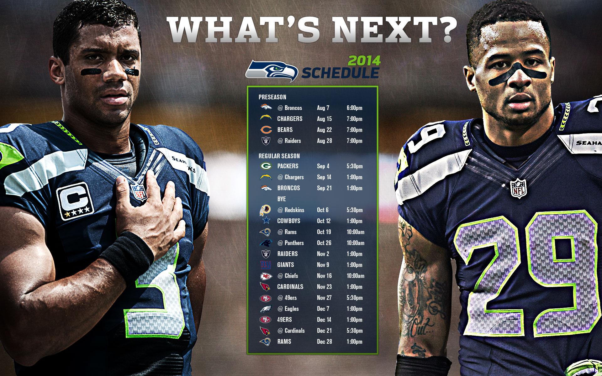 2015 Seattle Seahawks Schedule HD Photo Galeries Best WallPaper 1920x1200