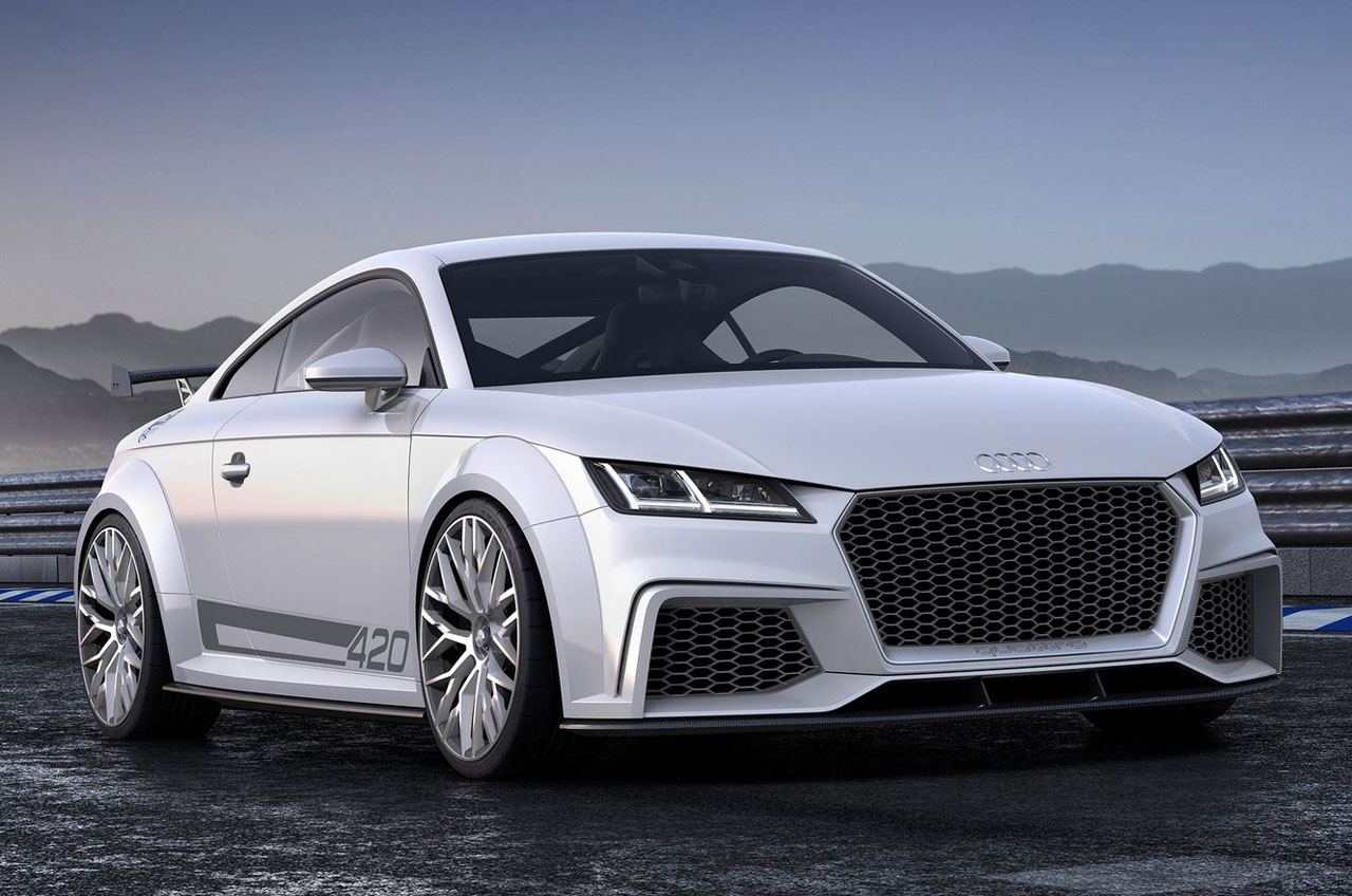 2015 Audi Tt Rs - wallpaper.