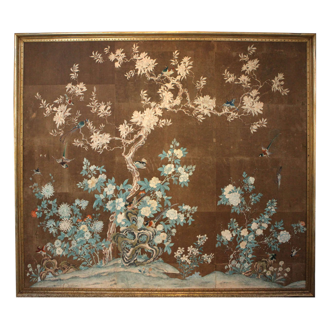 Early 19th Century Chinese Hand Painted Wallpaper Panels at 1stdibs 1280x1280