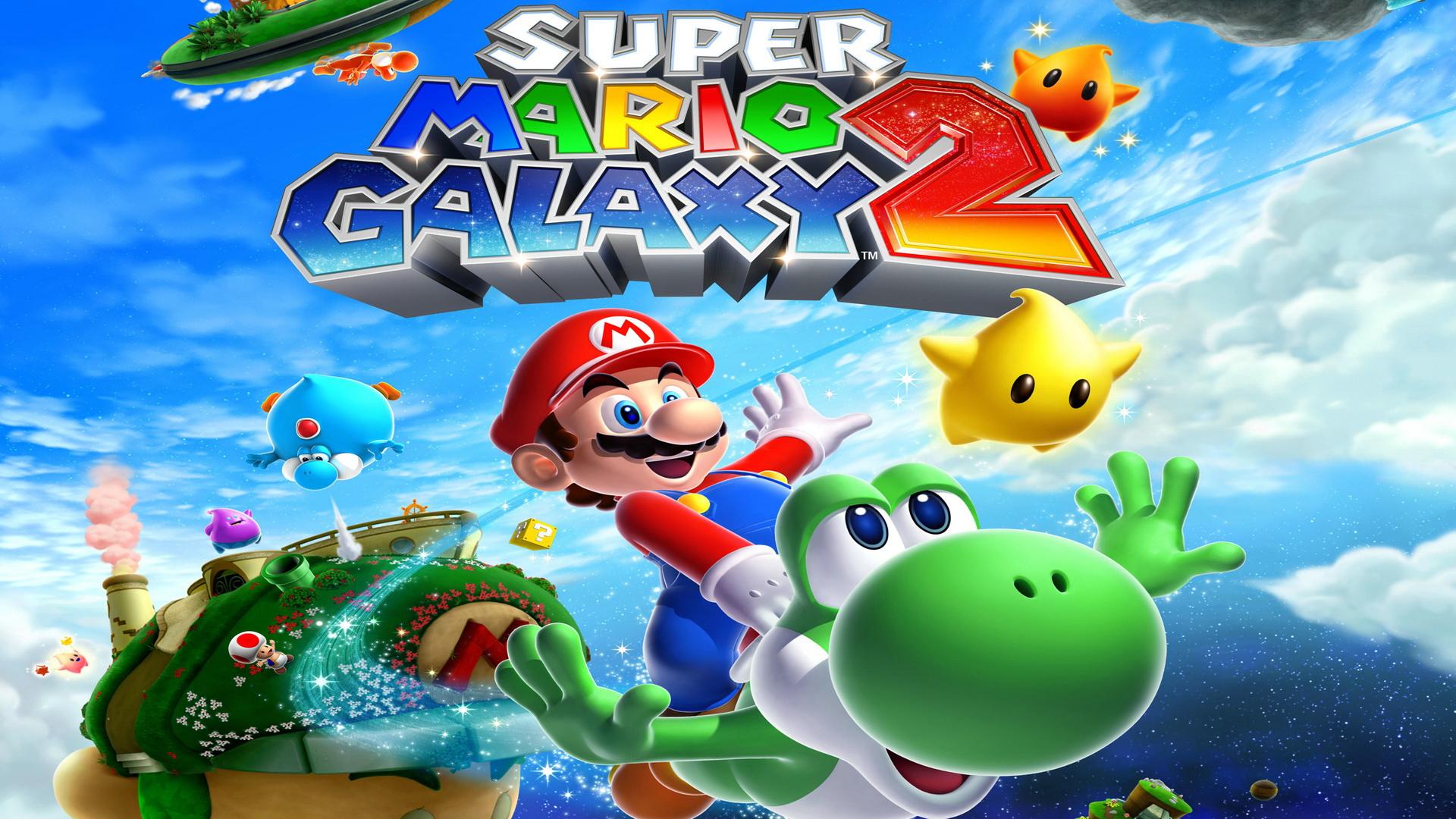 Super Mario Galaxy Wallpaper: Super Mario Galaxy 2 Wallpaper Hd