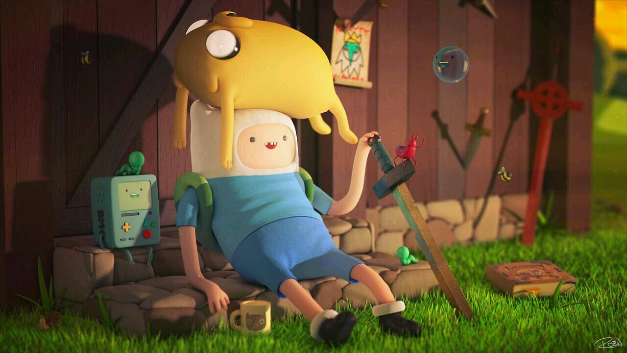 Adventure Time With Finn and Jake image adventure time with finn and 1280x720