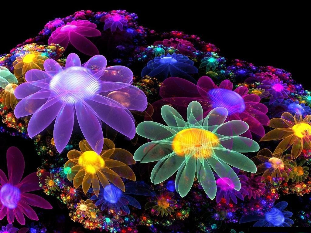 Cool flower backgrounds wallpapersafari for Cool floral wallpaper