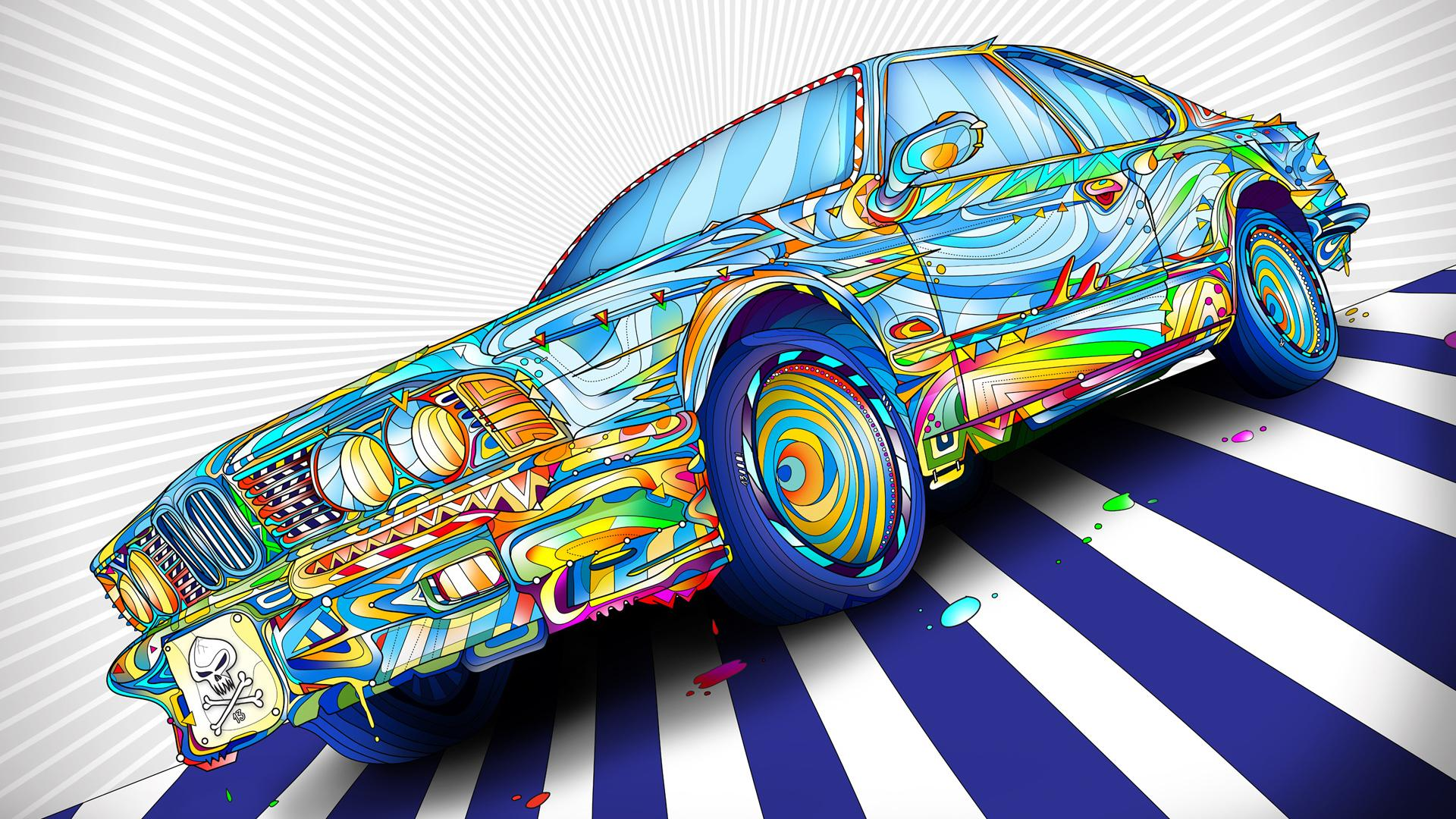 psychedelic hd wallpaper widescreen 1920x1080