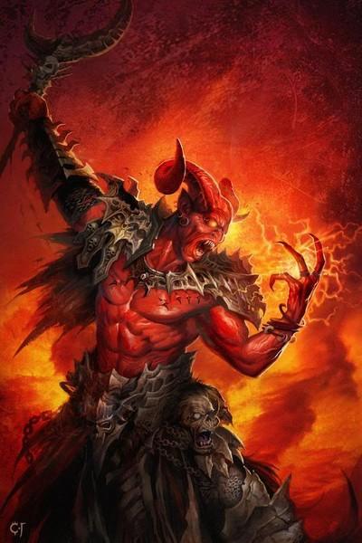 Satan 1jpg phone wallpaper by lazybg 400x600
