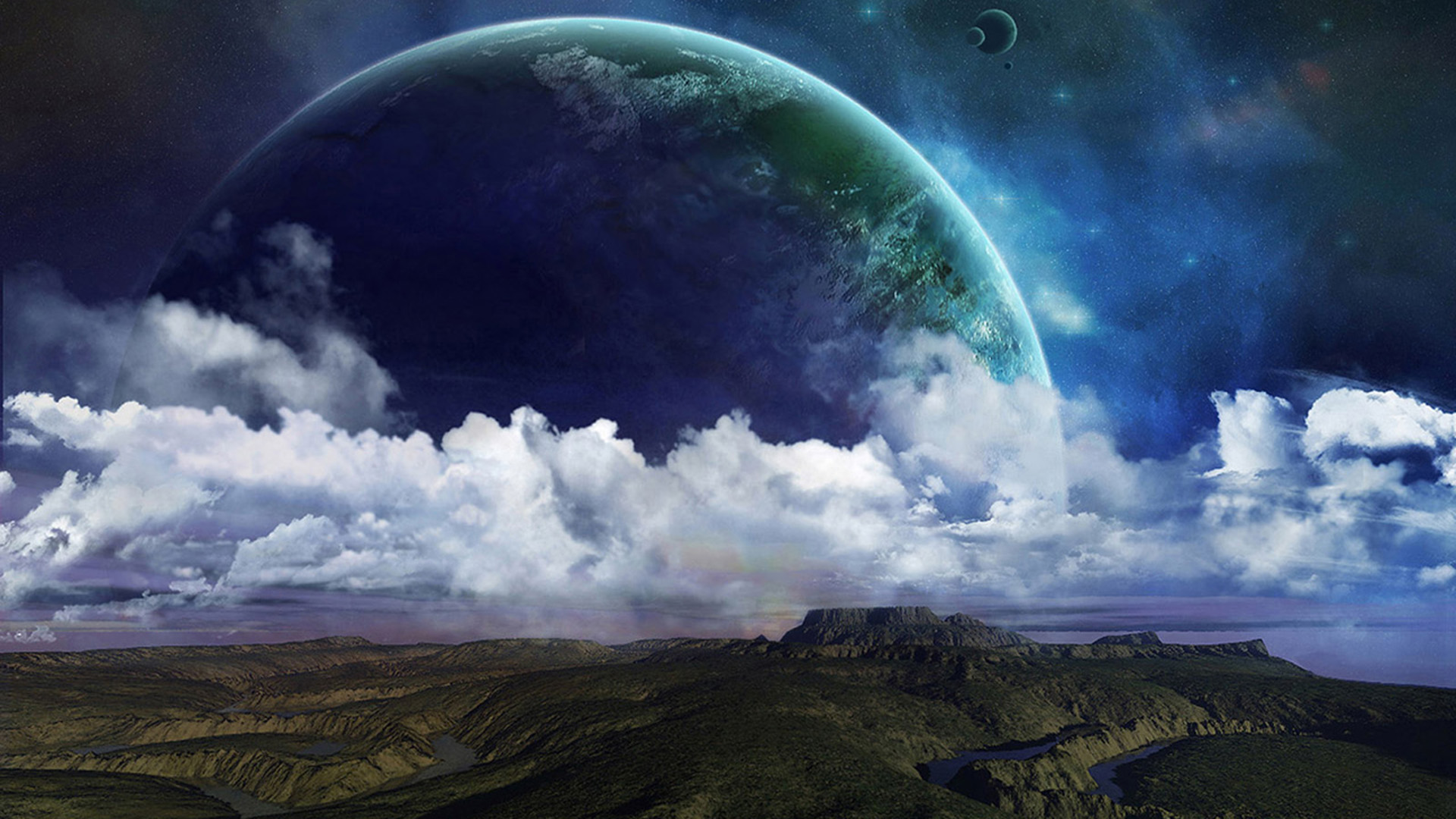 space wallpaper background nature earth wallpapers planet 1920x1080