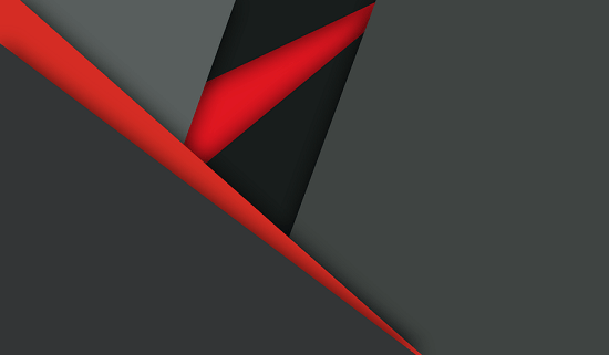 black and red material design wallpaper 550x321