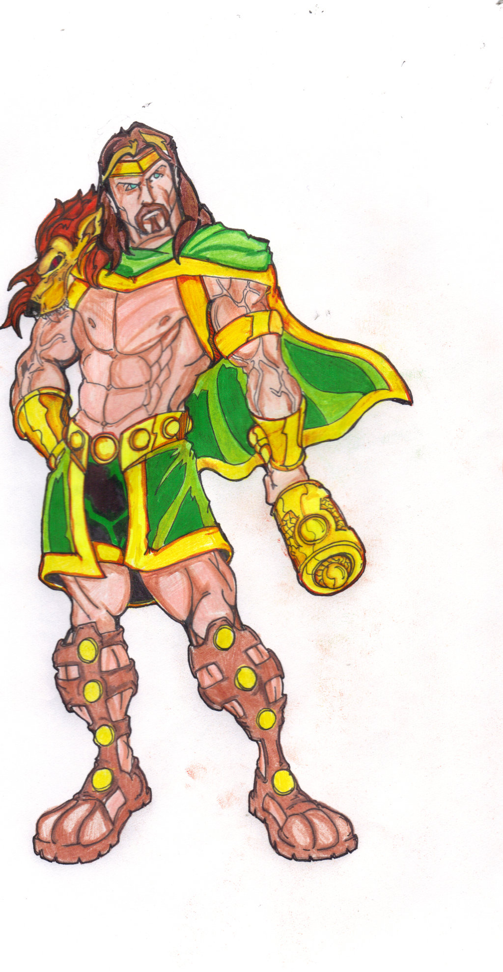 Marvel Revolt Hercules by FrischDVH 1024x1979
