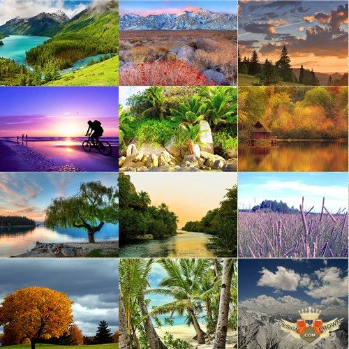 Fabulous nature wallpapers and landscape photos made by professional 500x500