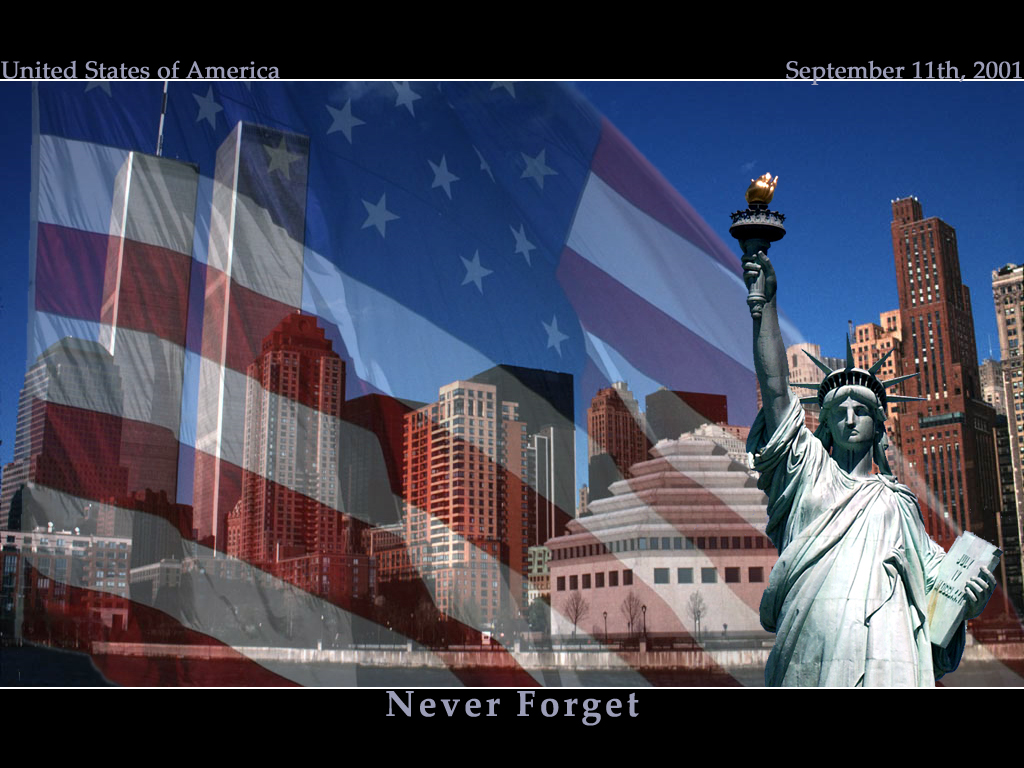 Never Forget 9 11 by destrekor 1024x768