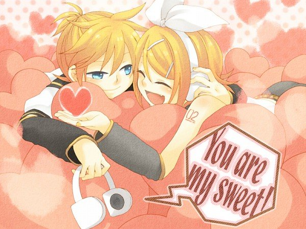 Vocaloids images Rin x Len wallpaper and background photos 29421399 600x450