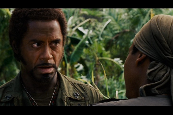 Tropic thunder fuck your own face