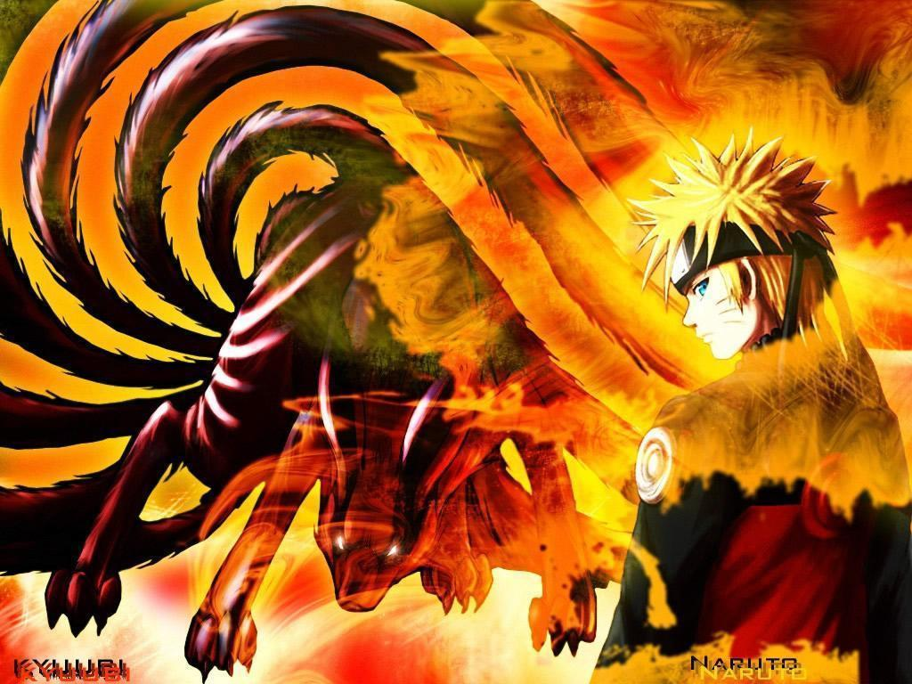 Naruto Nine Tails Wallpapers 1024x768