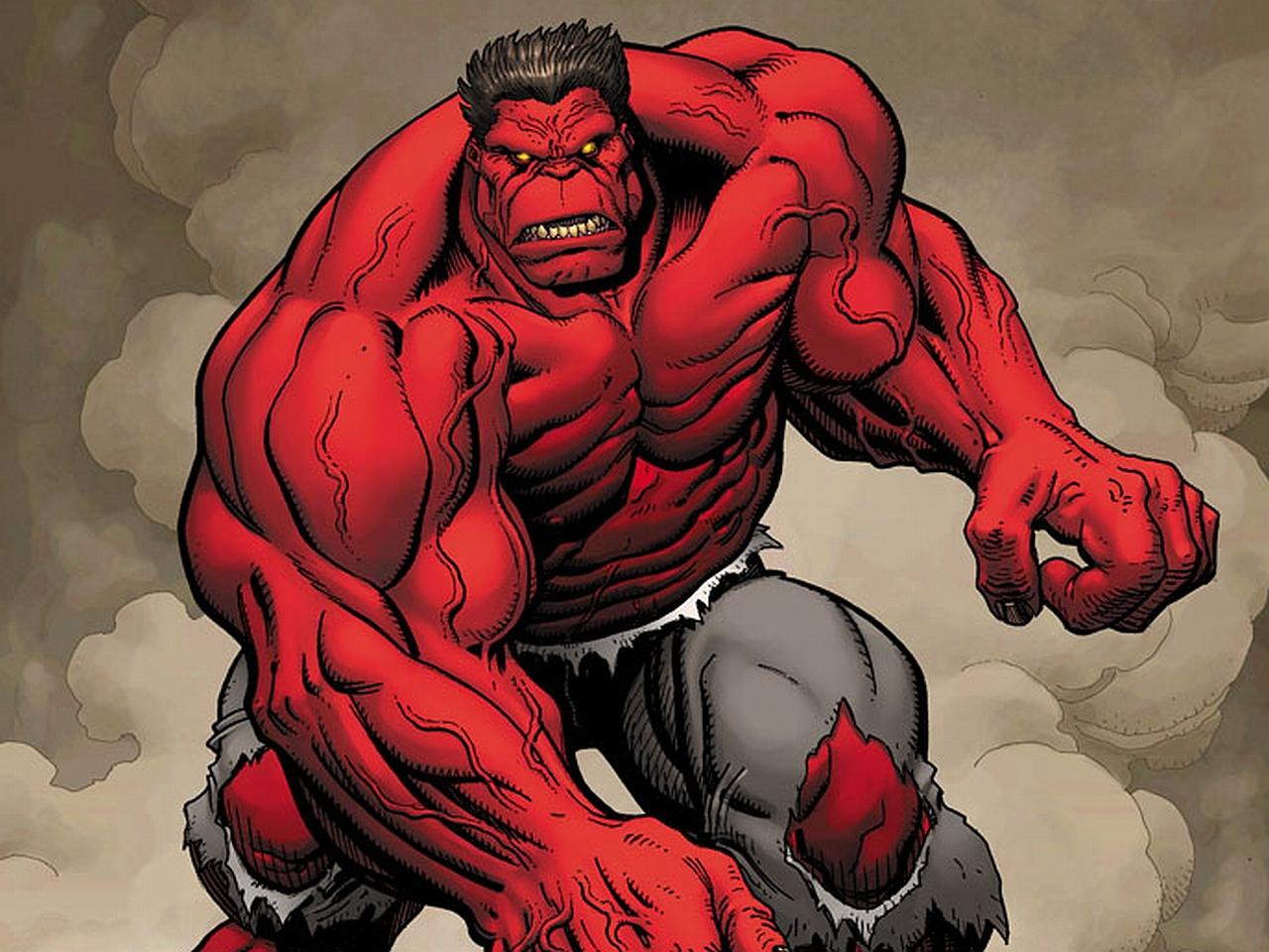 Red hulk wallpaper wallpapersafari - Pictures of red hulk ...