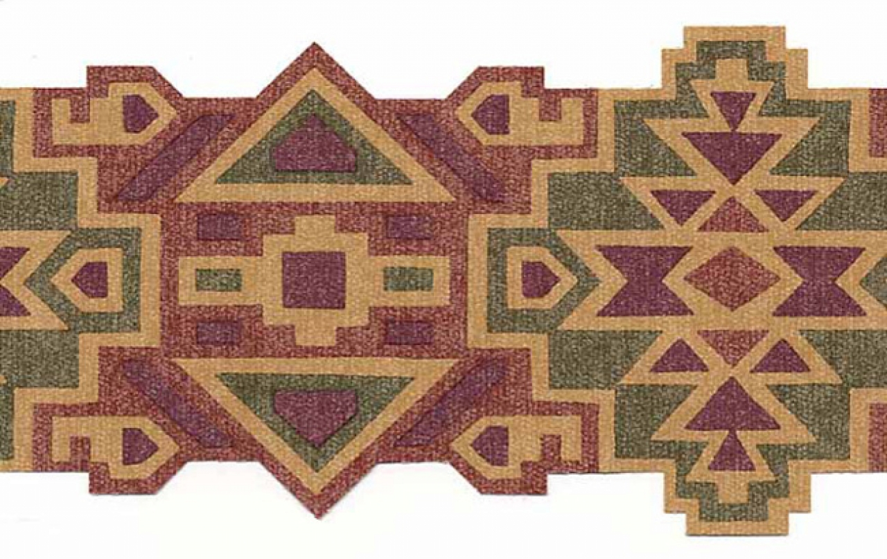 Southwestern aztec design wallpaper border mrl2412 1280x807