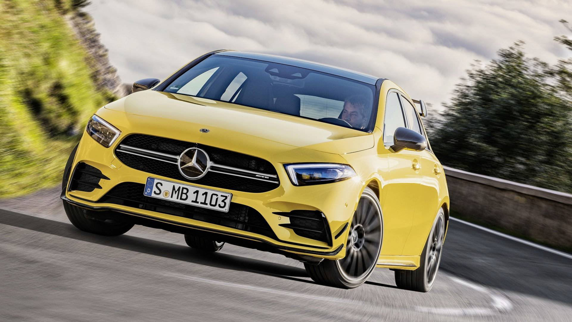 2019 Mercedes AMG A35 4Matic Goes Official With 302 Horsepower 1920x1080