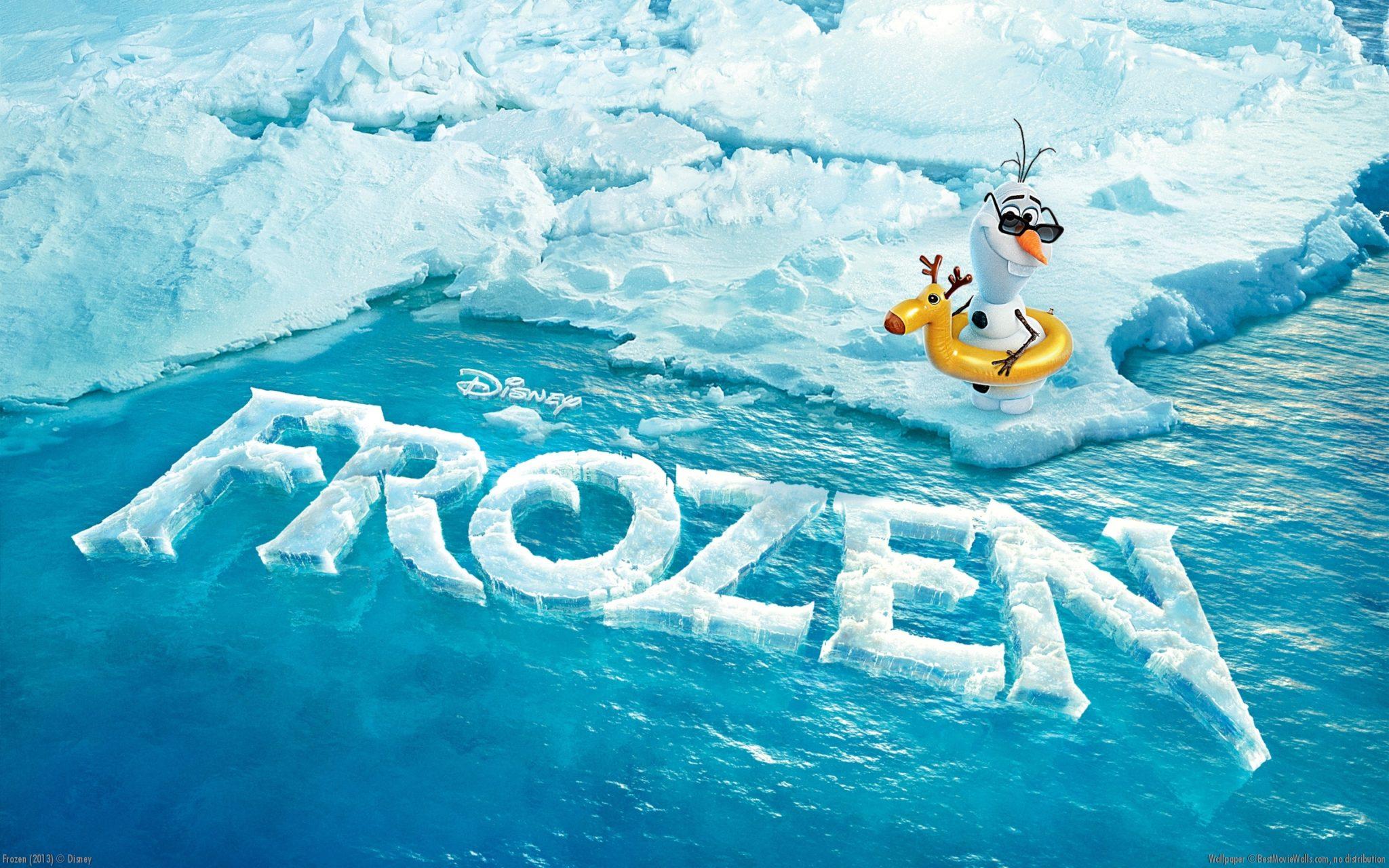 Best Movie Walls Frozen Wallpaper Olaf Logo   High Definition 2048x1280