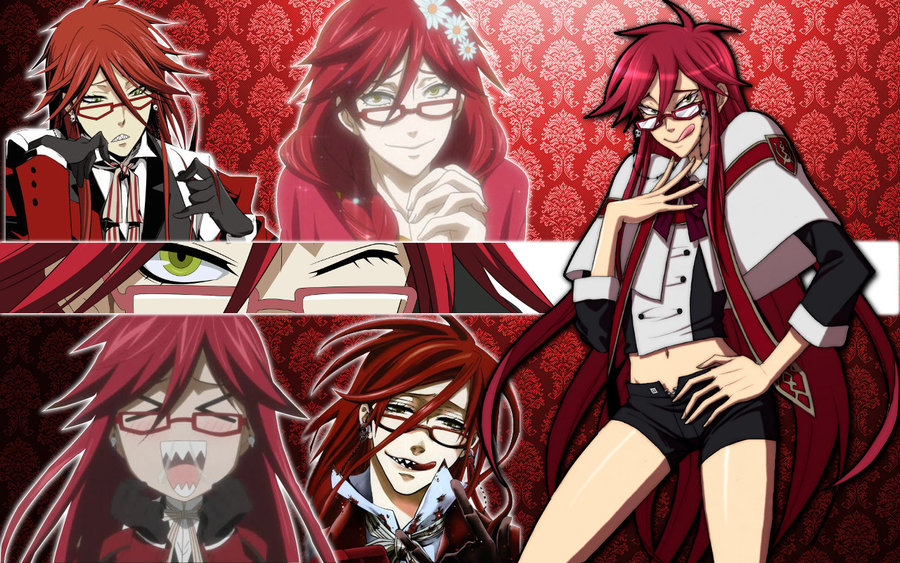 Grell Sutcliff Wallpaper  by DanceInTheFlames xjpg 900x563
