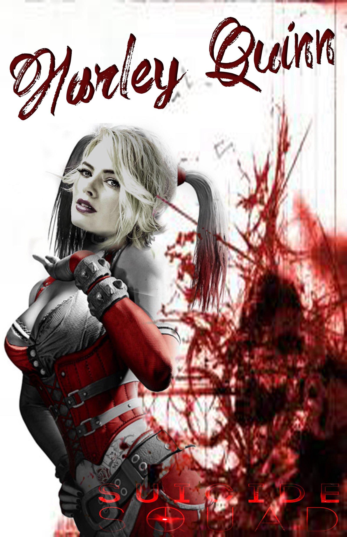 Margot Robbie as Harley Quinn by Gavinsgate 1600x2473