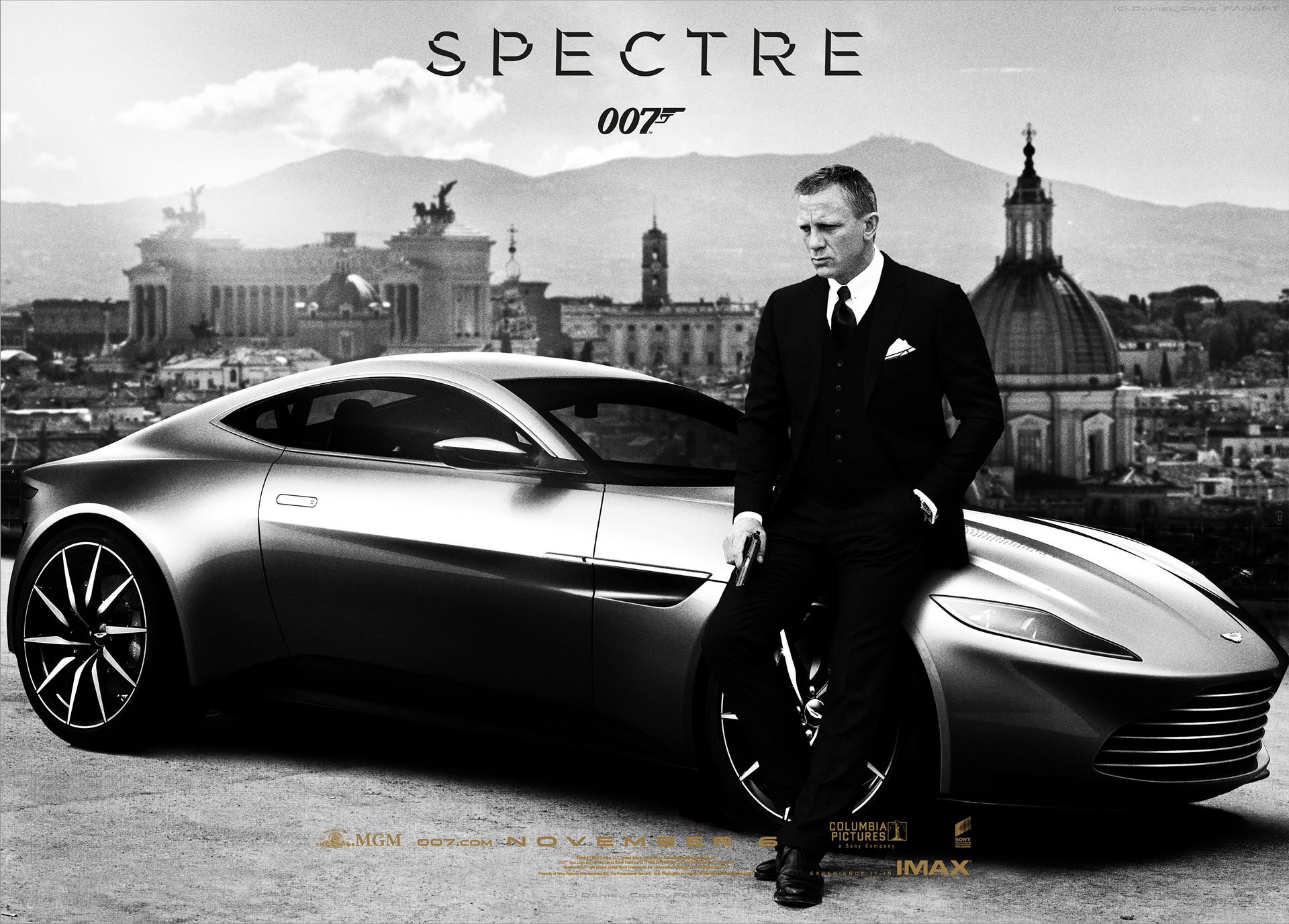 Daniel Craig Lea Seydoux Spectre 2015 James Bond 007 Wallpaper HD 1920x1377