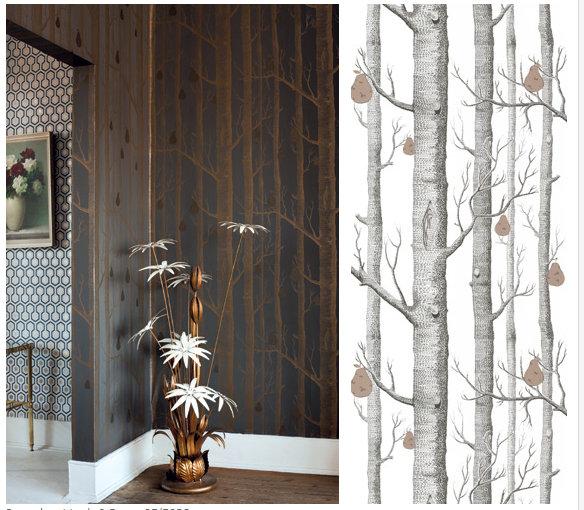 cole and son tree wallpaper wallpapersafari. Black Bedroom Furniture Sets. Home Design Ideas