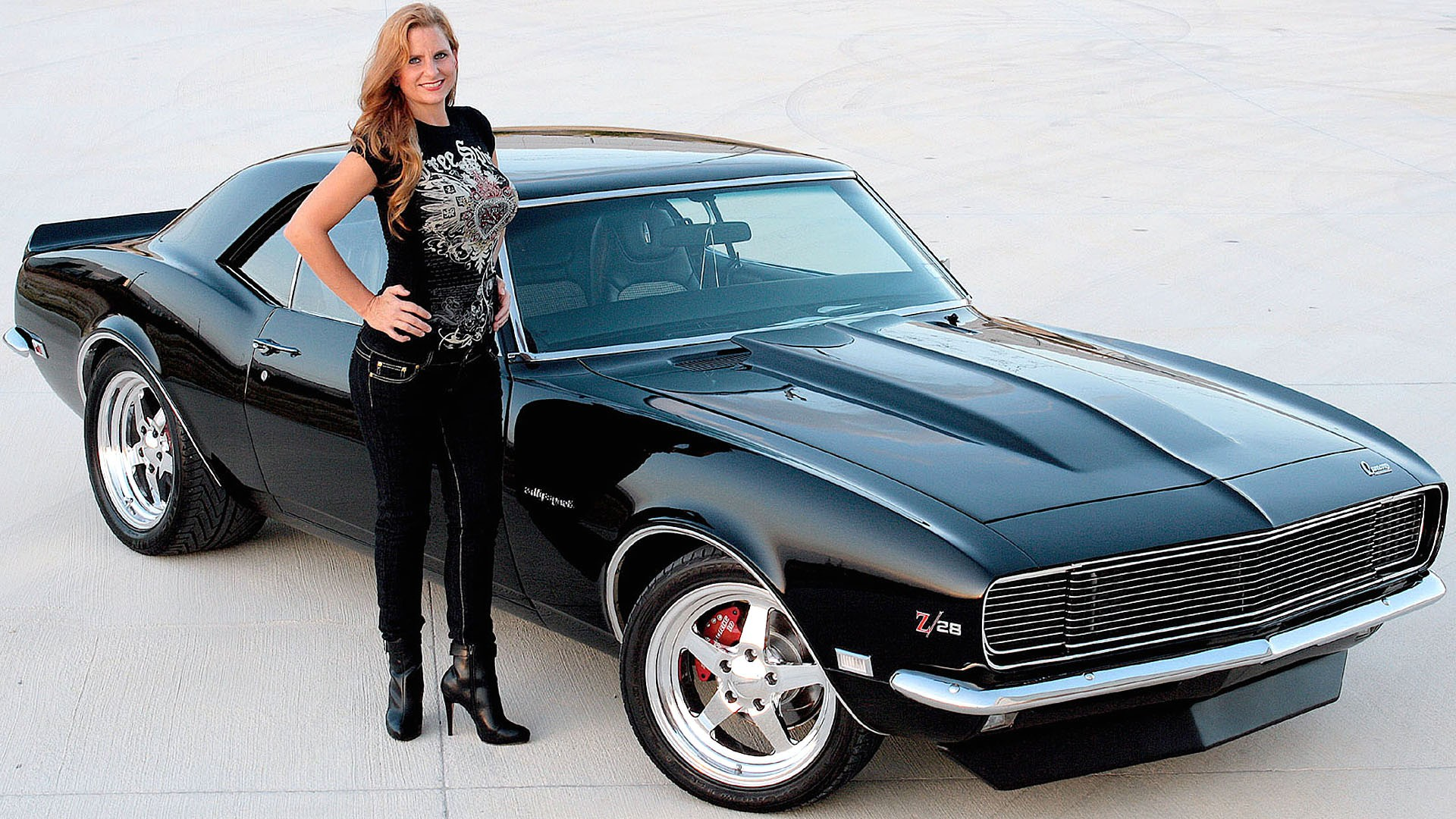 41 girls and muscle cars wallpaper on wallpapersafari - Pictures of muscle cars ...