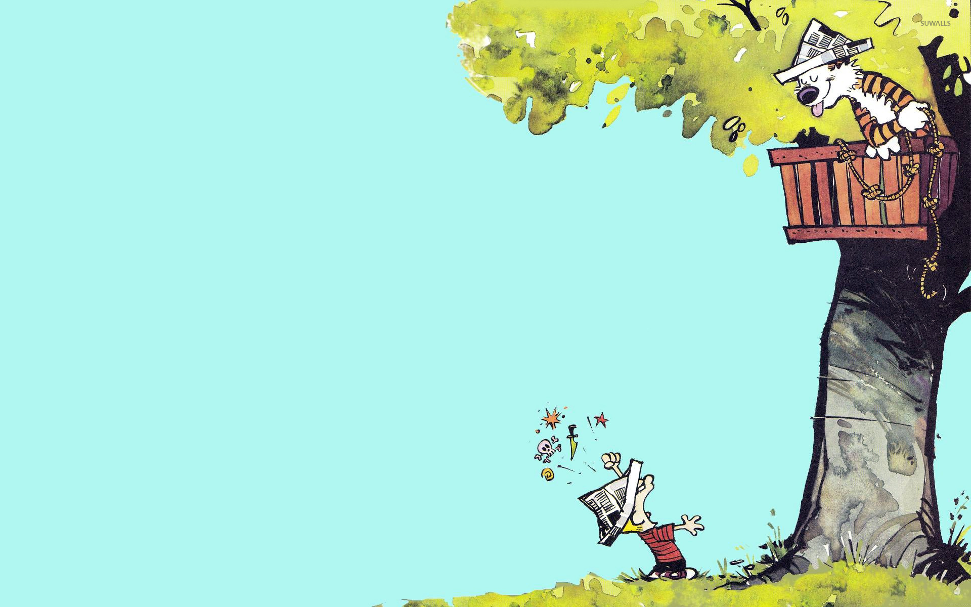 Calvin and Hobbes wallpaper   Cartoon wallpapers   15320 1920x1200