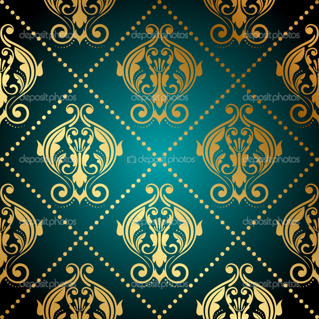 turquoise and gold wallpaper wallpapersafari. Black Bedroom Furniture Sets. Home Design Ideas