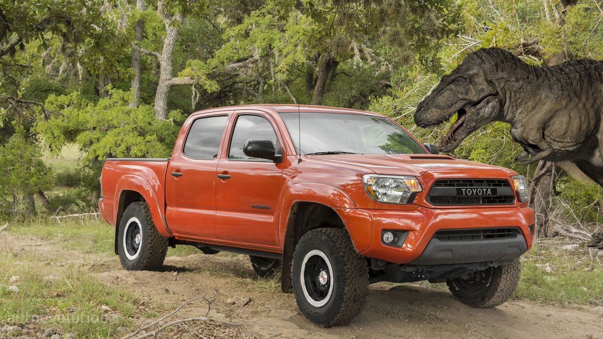 2015 Toyota Tacoma TRD Pro HD Wallpapers Conquering Jurassic World 1920x1080
