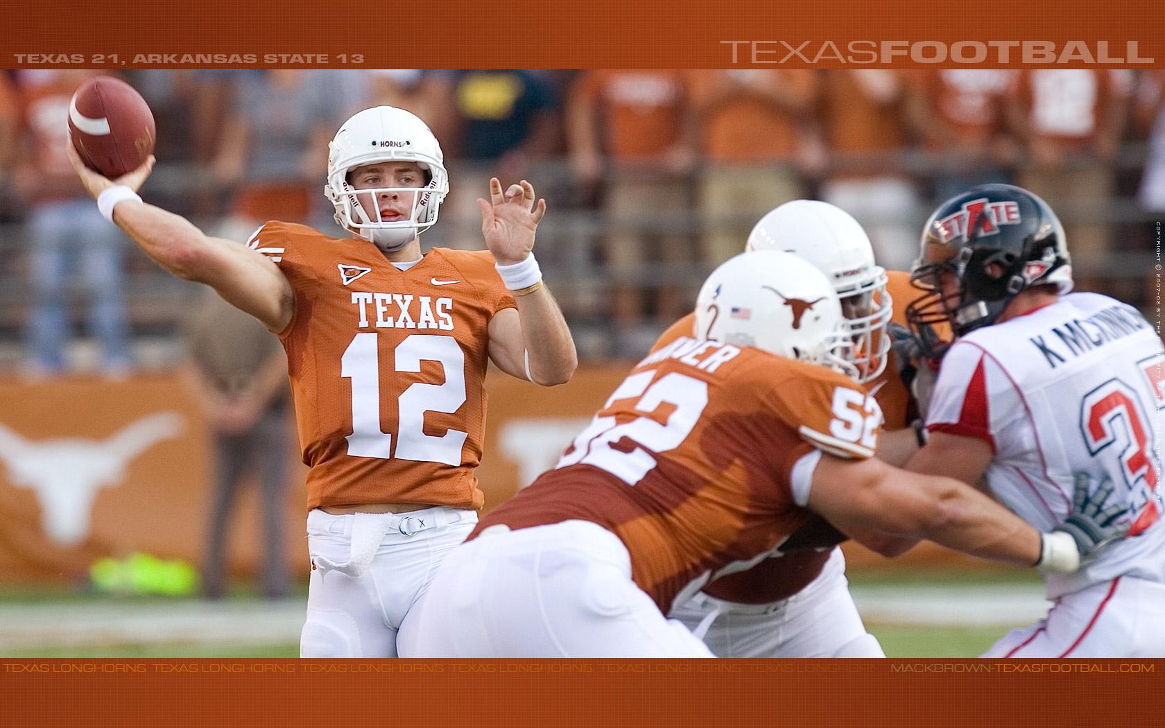 Texas Longhorns Football Wallpaper 1680x1050