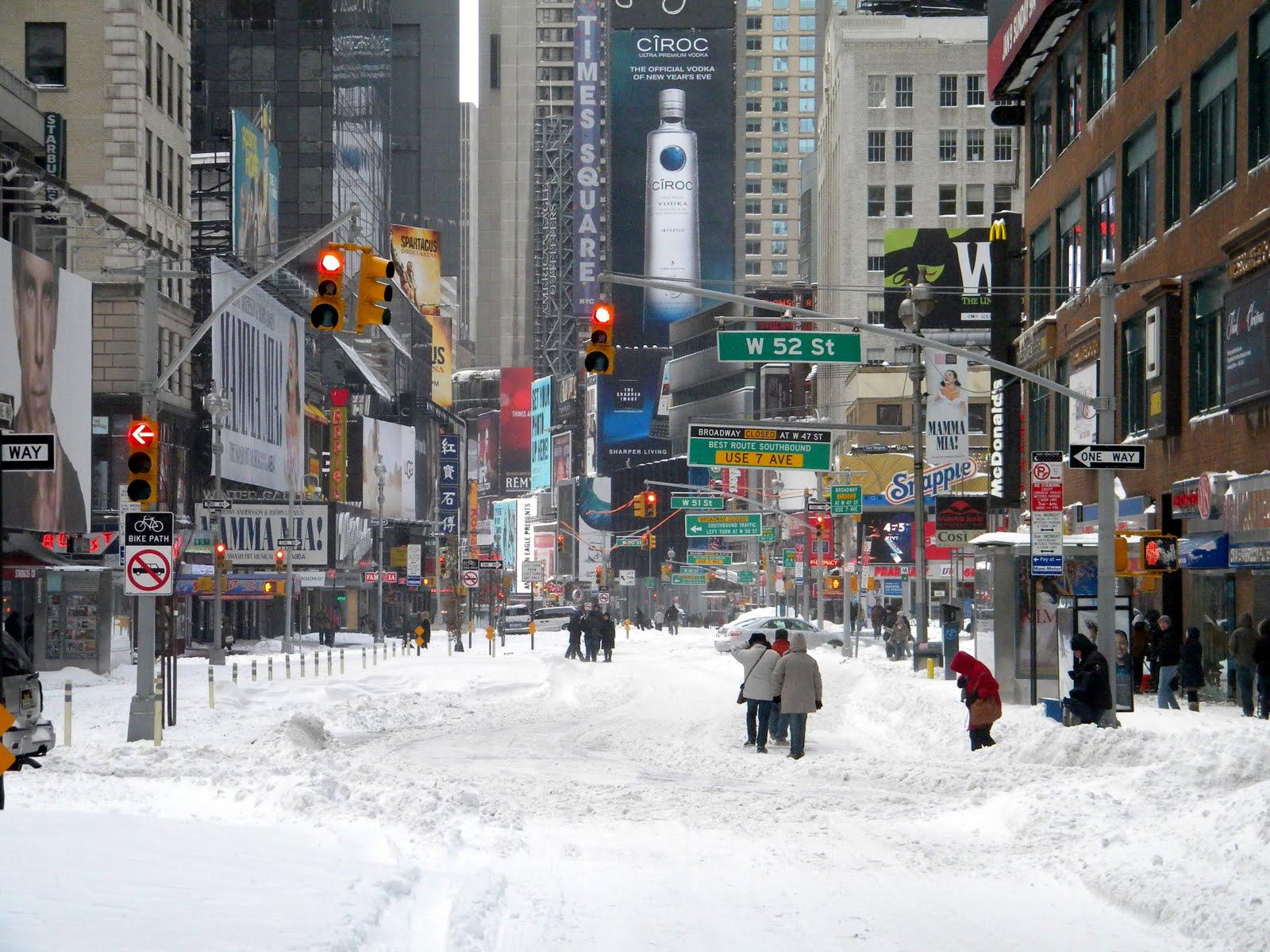 1600x1200px New York Winter Wallpaper 1600x1200