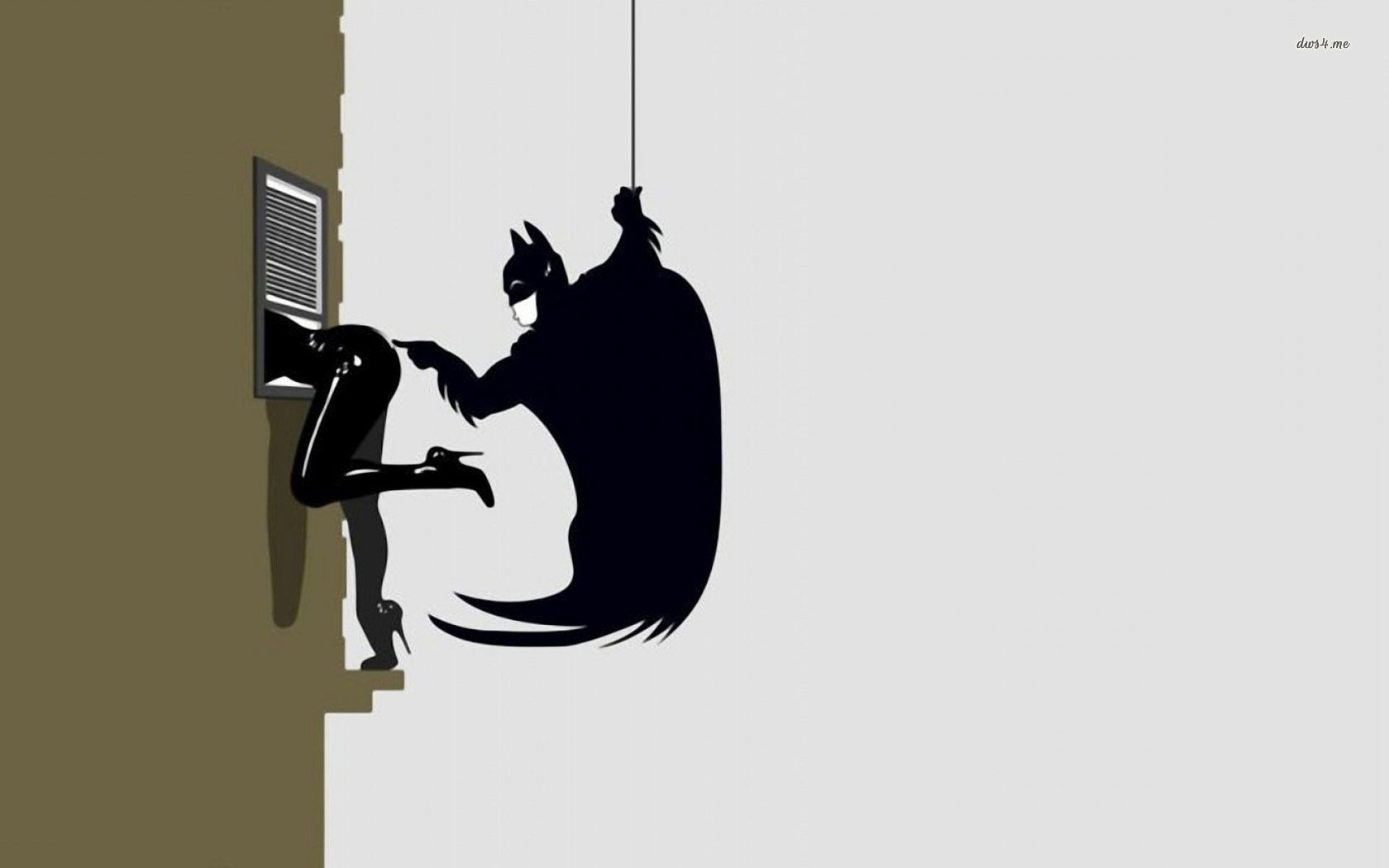 Batman and Catwoman wallpaper   Comic wallpapers   28445 1680x1050