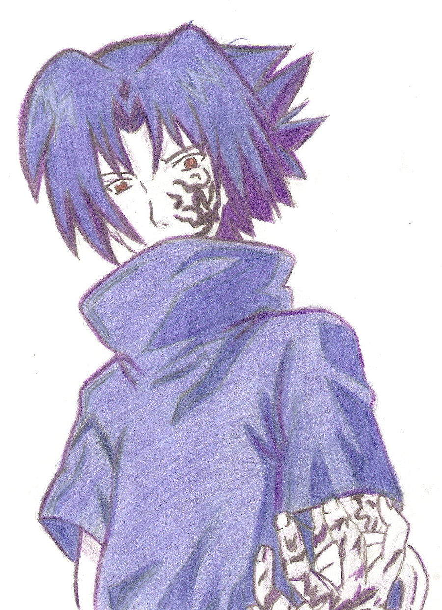 Sasuke Uchiha Curse Mark by Sitebzen 900x1241