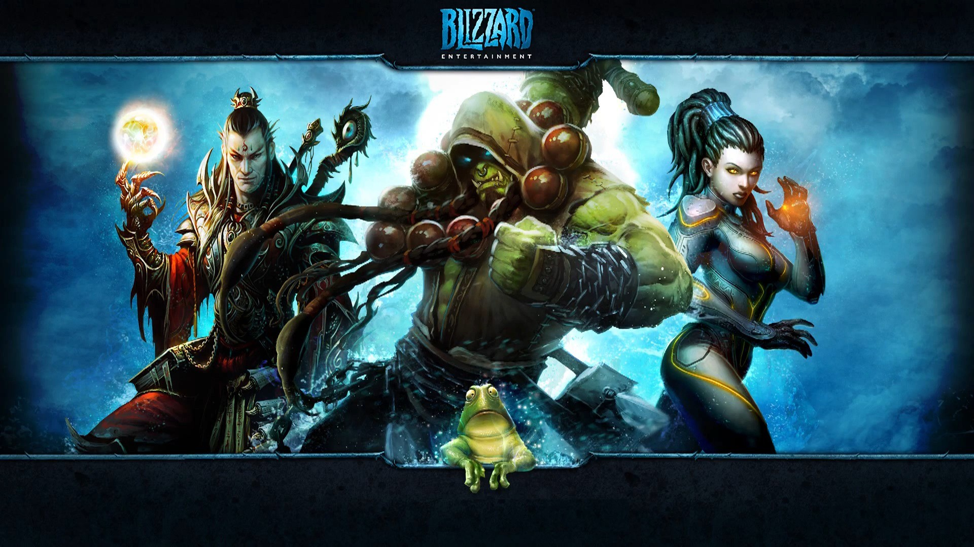 video games World of Warcraft thrall Blizzard Entertainment Diablo III 1920x1080