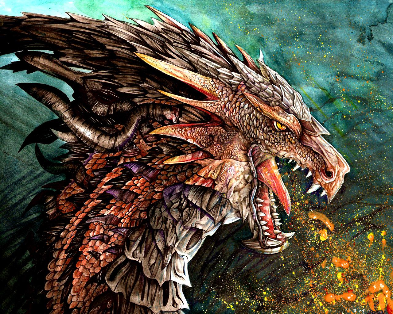 Dragon Wallpaper   Dragons Wallpaper 13975612 1280x1024