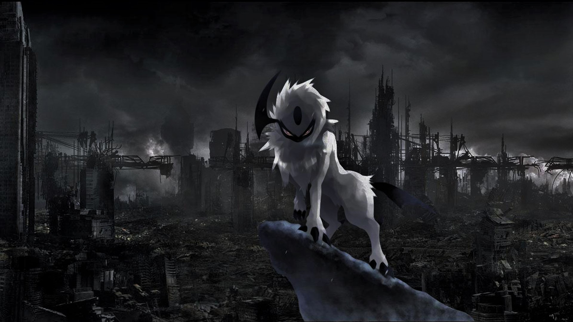 Absol Wallpaper Edit by RPG247 1920x1080