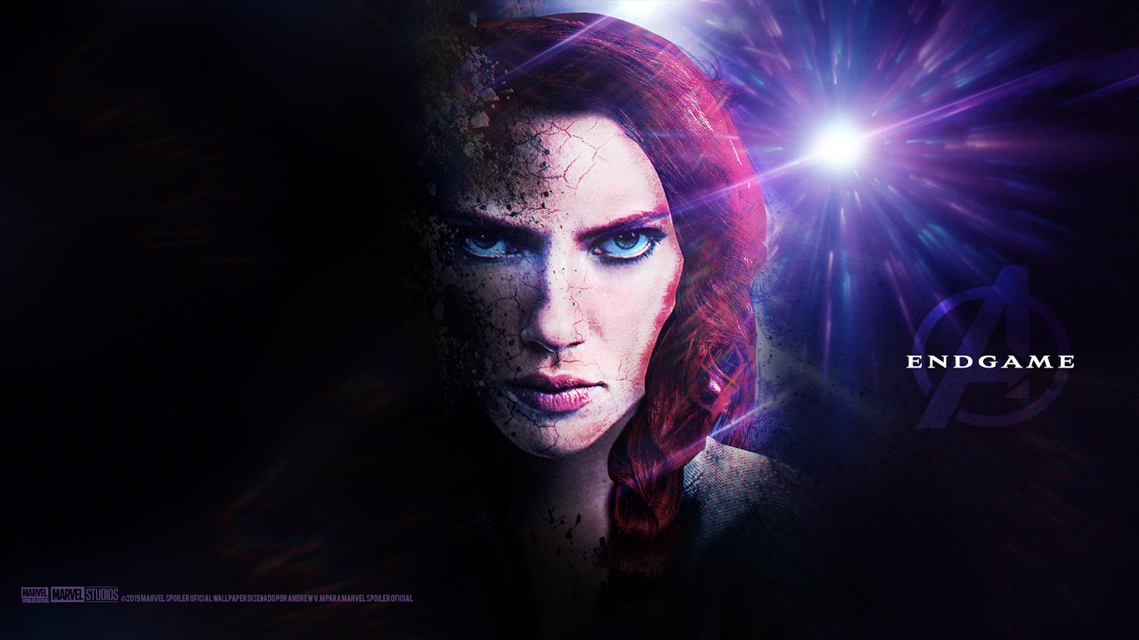 15 Black Widow Endgame Wallpapers On Wallpapersafari