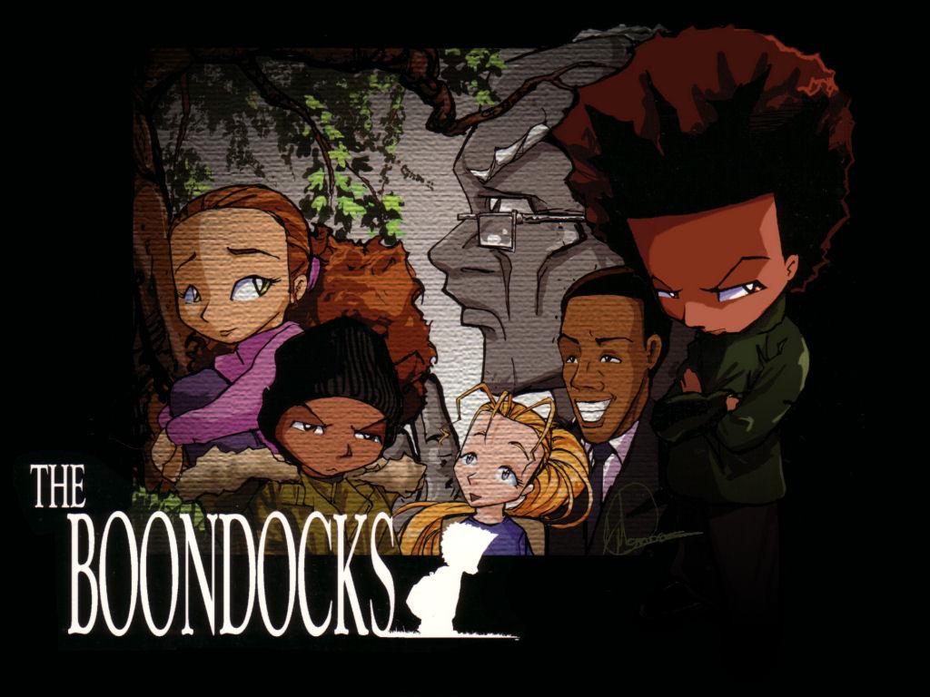 Cartoon   The Boondocks Wallpaper 1024x768