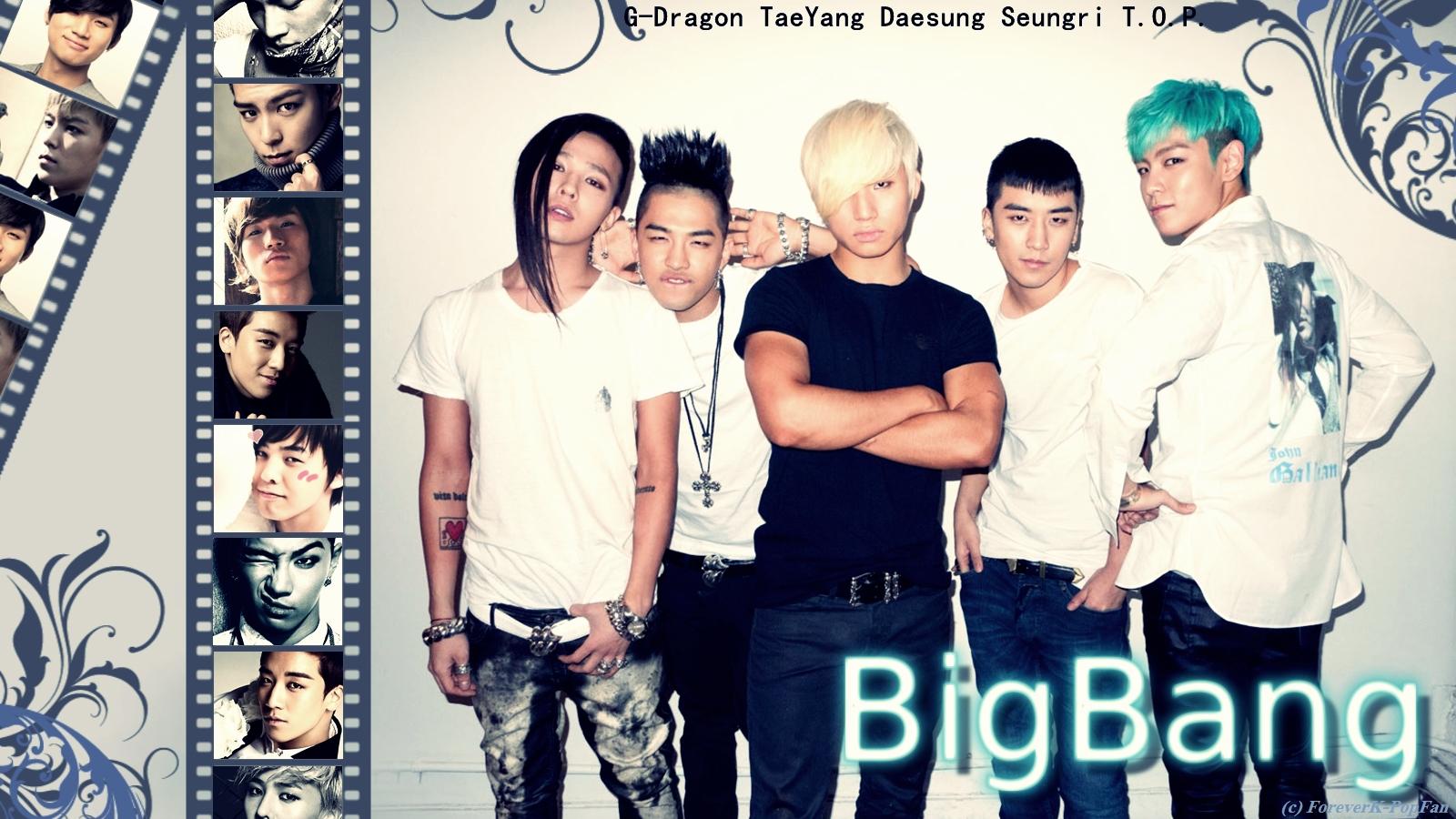 Big Bang Wallpaper Korean Wallpapersafari