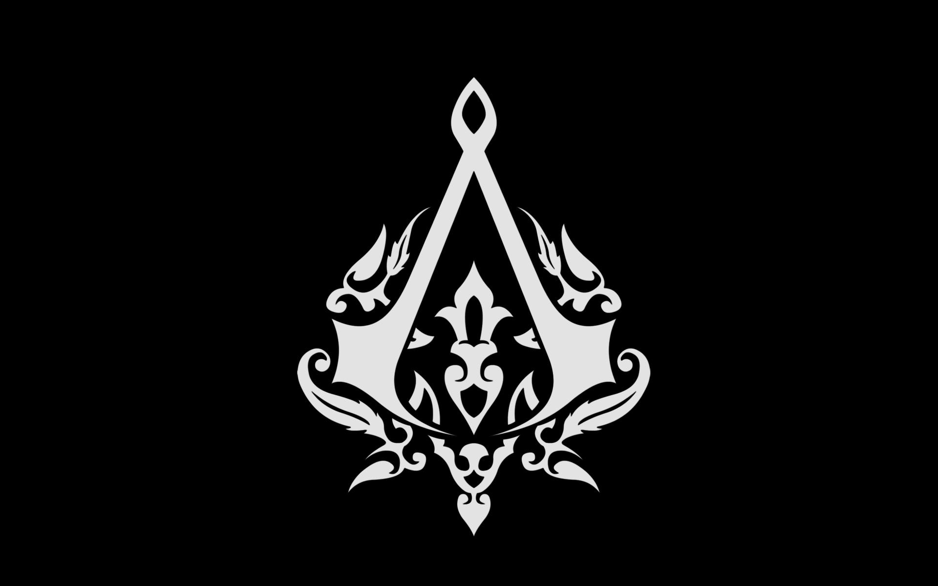 Assassins Creed Logo wallpaper 1920x1200