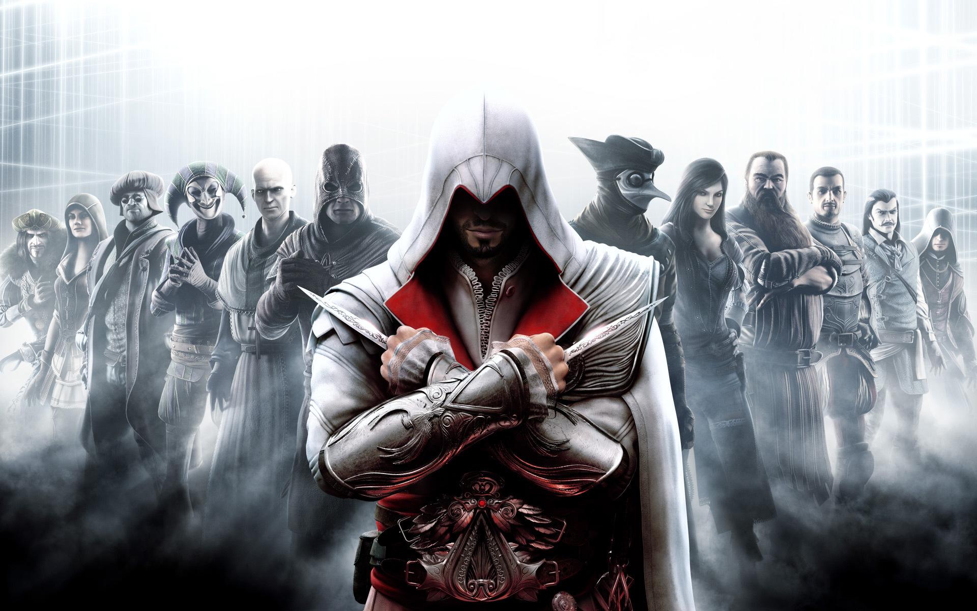 Assassins Creed Brotherhood Wallpaper ezio assassin 1920x1200