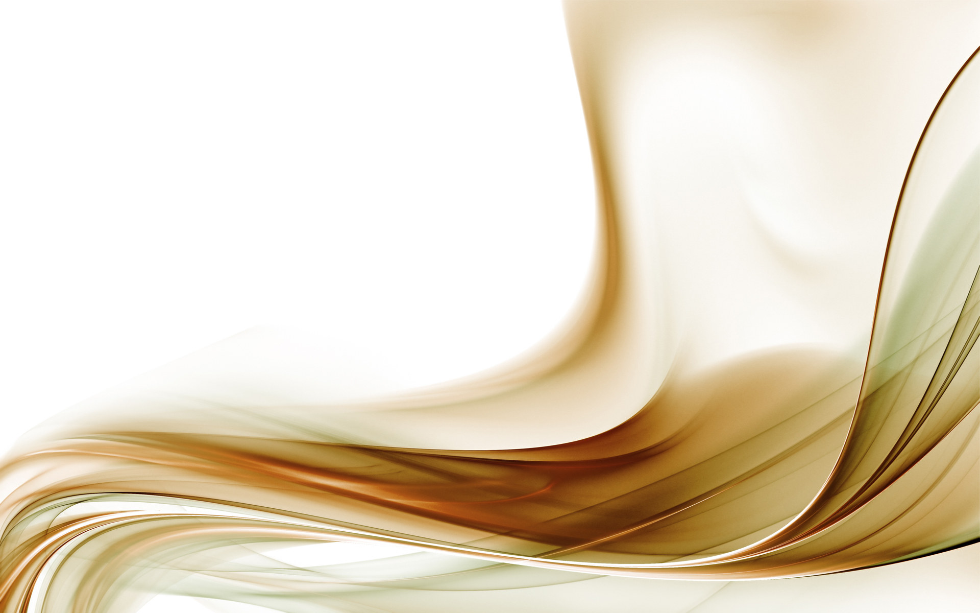 wallpaper 96264 Gold Abstract With White Background HD Wallpaper Image 1920x1200