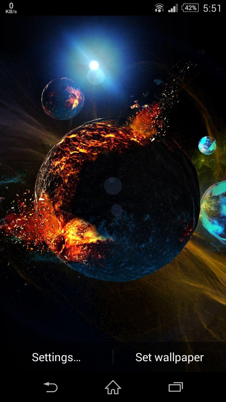 3D Space Live Wallpaper - WallpaperSafari