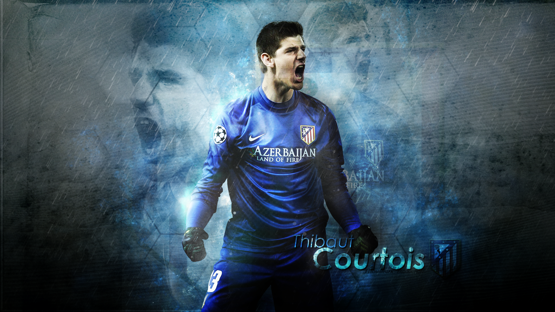 Thibaut Courtois wallpaper   1218402 1920x1080